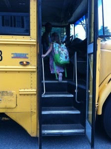 Abbey First Day of School
