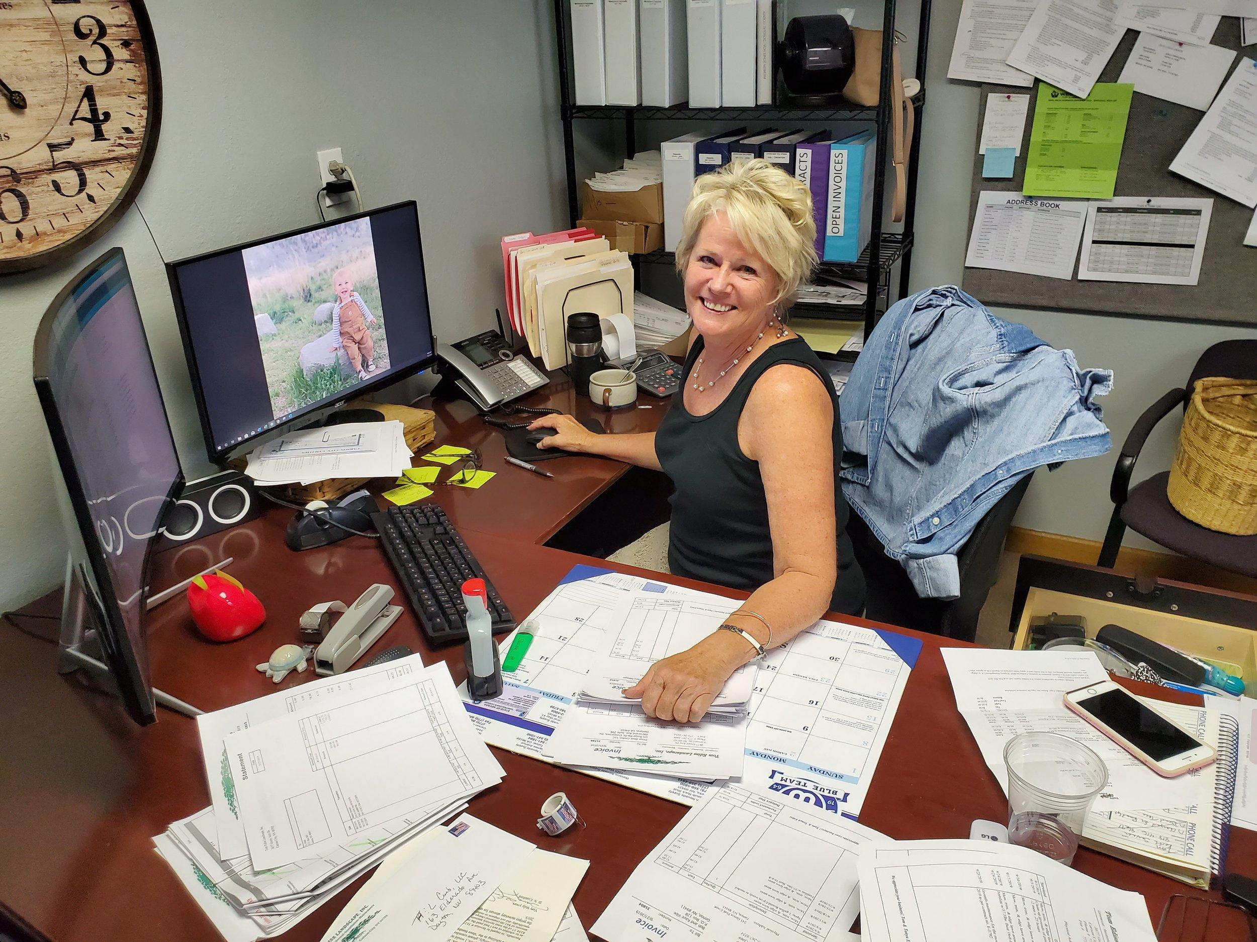 - Tonya Ediss, Office Manager(775) 267-3066; tonya@tomedisslandscape.com