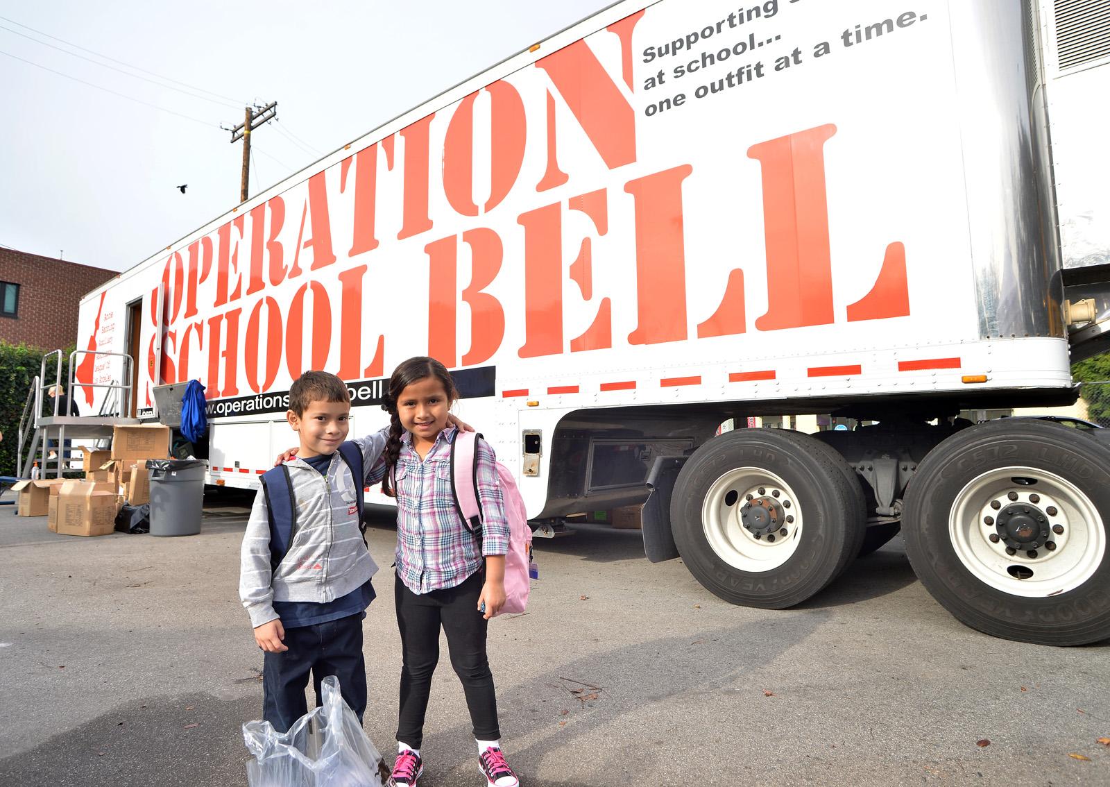 Operation School Bell, grantee of Jansen Foundation