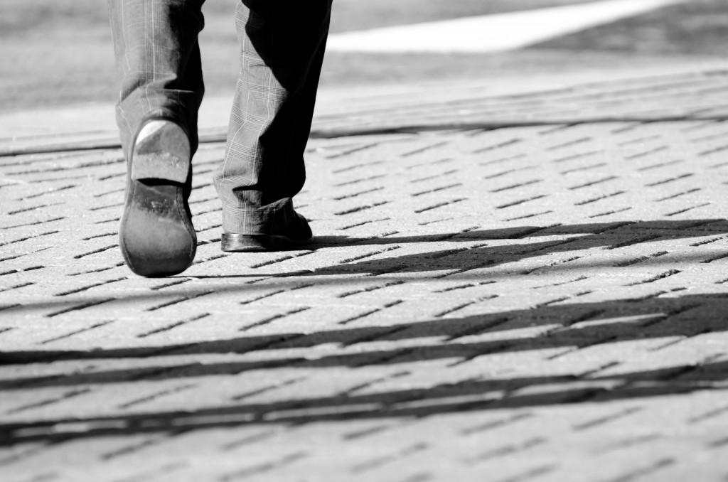 steps-black-and-white