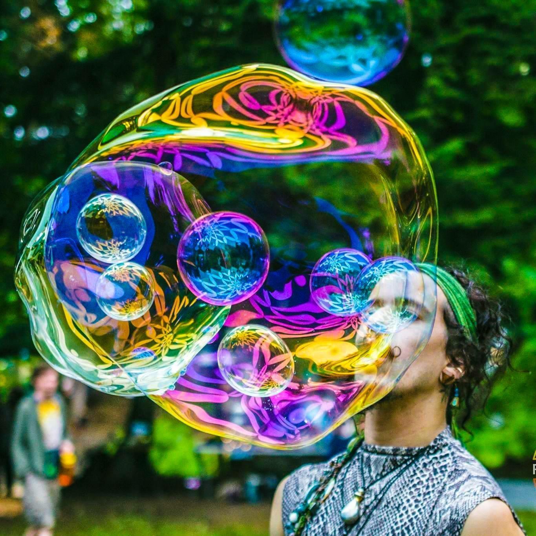 Artiste : Wobble Bubble / Organisation : Bubblelicious Collective / Résidence : Eco-Odyssée