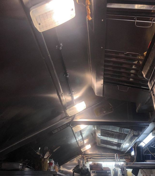 💡Some new lights in a very hot kitchen for Oyster & Chop House, Herne Bay