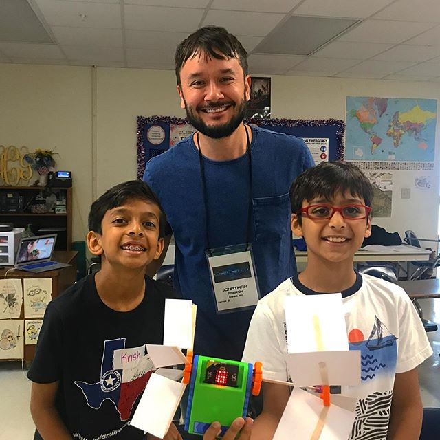 Cool creations with the Trashbot from #learnfest ! To do lessons like this, buy a kit, and more, visit www.trashbots.co #stem #education #engineering . . . . .  #students #success #edtech #business #education #tech #entrepreneur #stem #elearning #startup #online