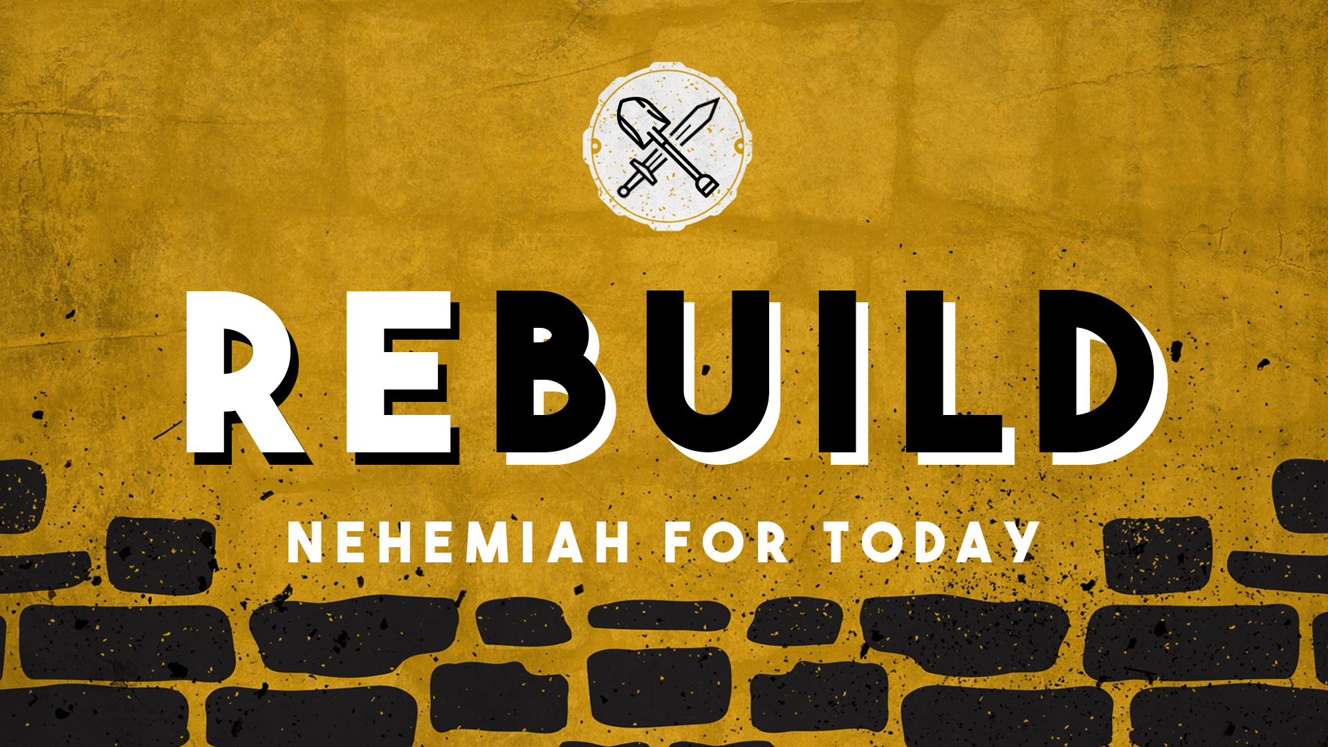 Rebuild - A study of the Old Testament historical book of Nehemiah.
