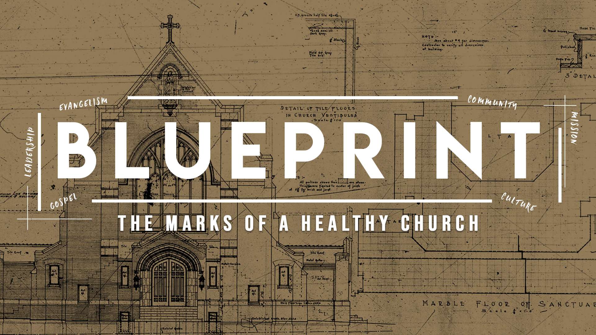 Blueprint - What are the marks of a healthy church? What makes a church successful? Join us as we examine the biblical mission and vision for Jesus' church.