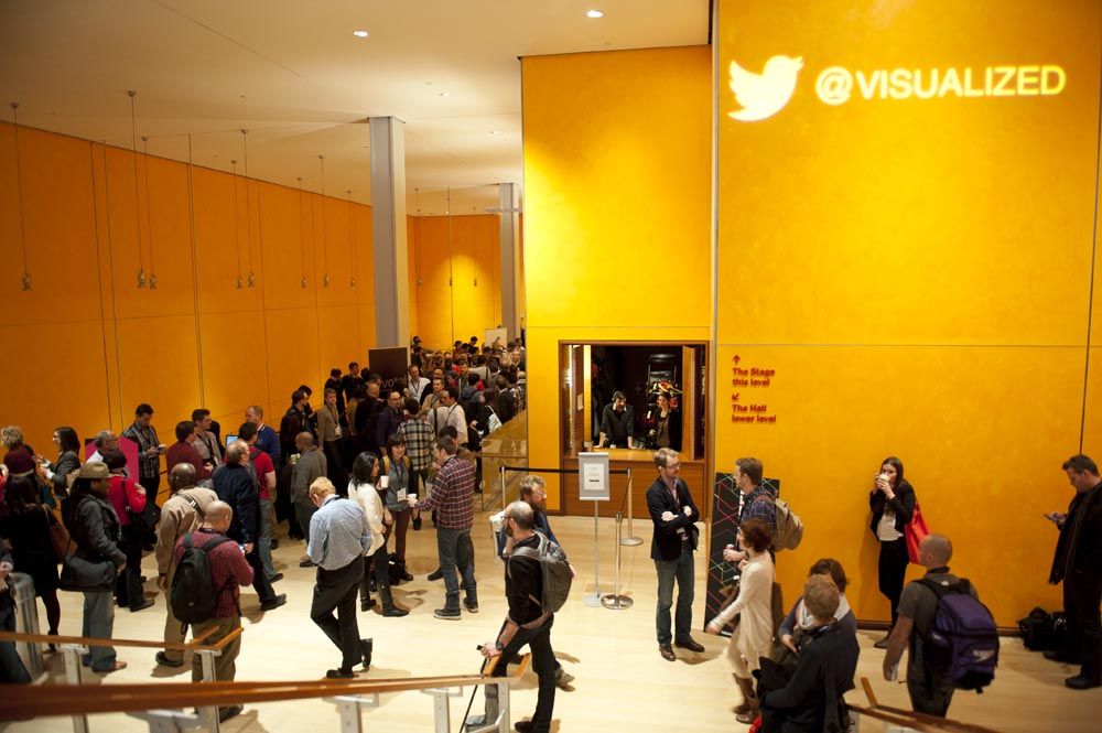 Preview Events - visualized conference - main stage presentation - times center lobby.jpg