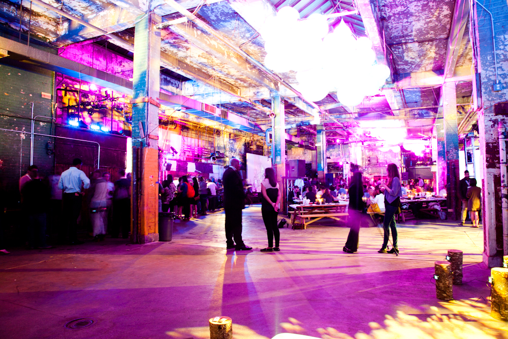 Preview Events - The Feast - neon light tunnel.jpg