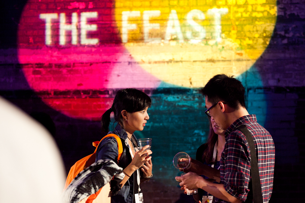 Preview Events - The Feast - wall branding.jpg