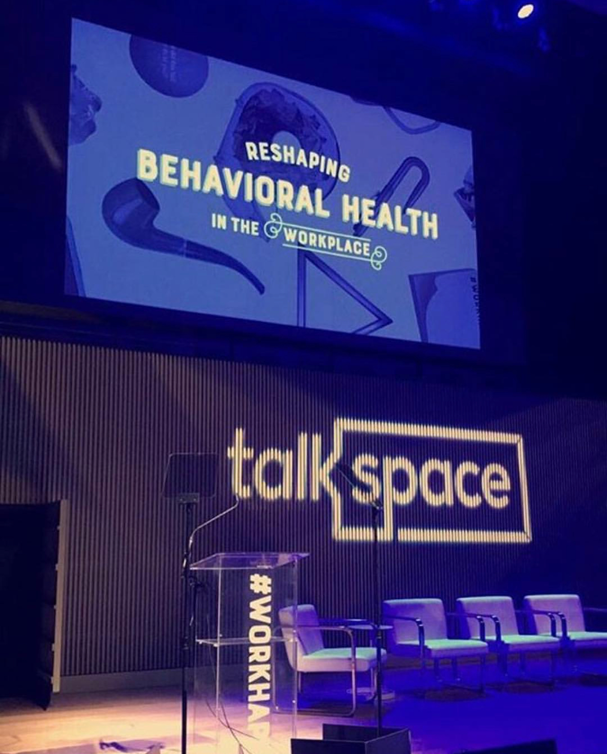 Preview Events - Talkspace - Future of Therapy - lighting - gobo - brick wall design.jpg