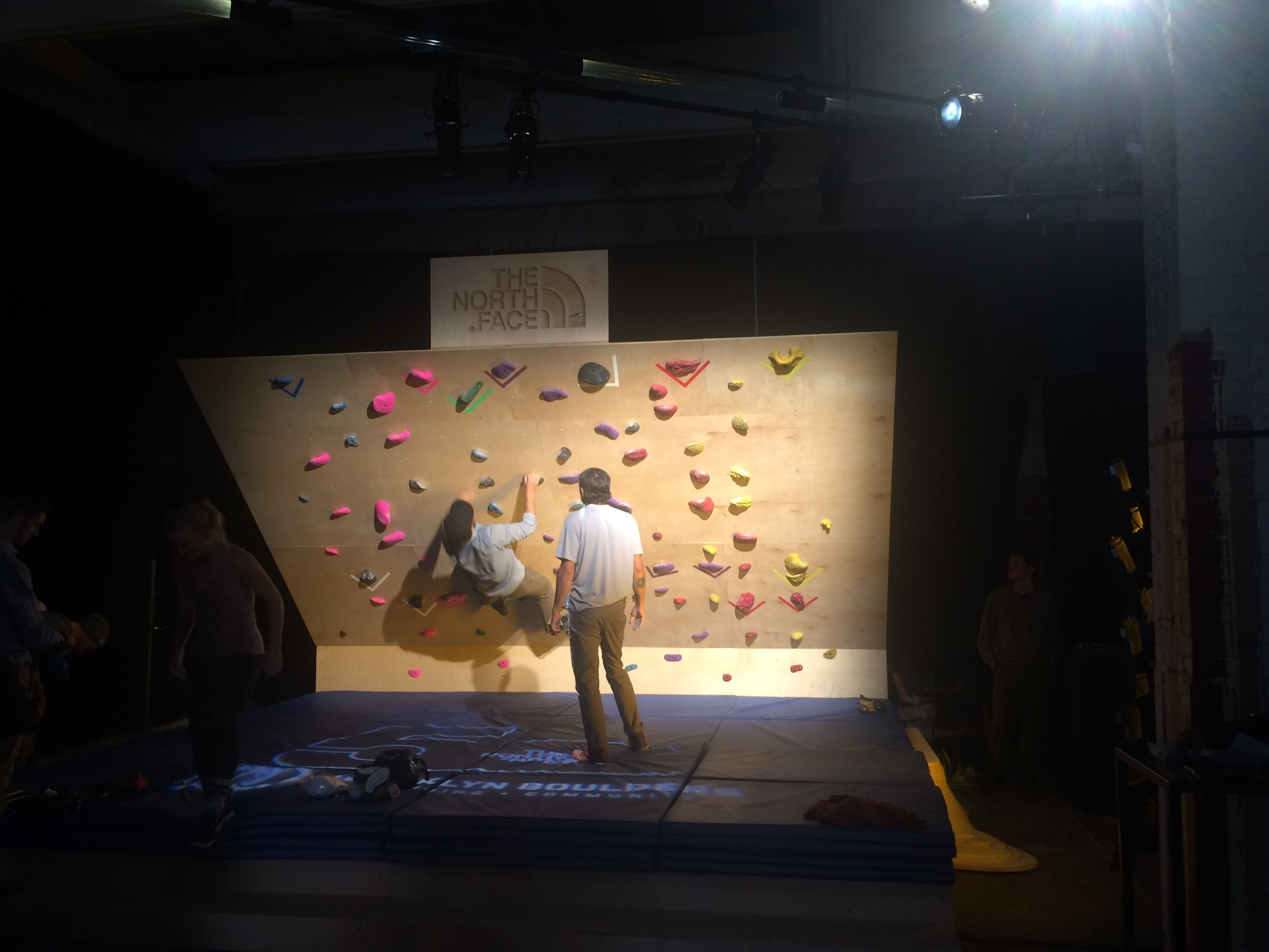 Preview Events - The North Face - rock climbing wall.jpg