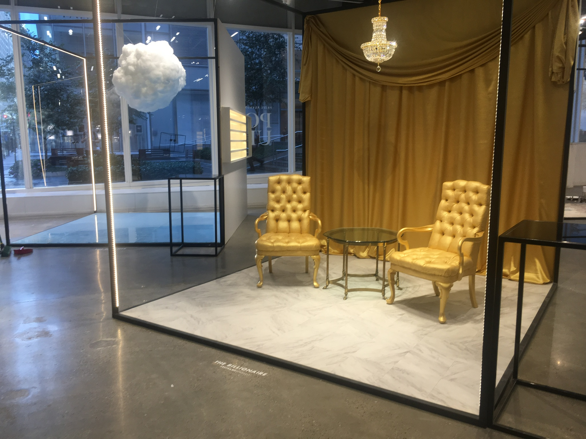 Preview Events - Prive Revaux - golden chairs - clouds - interactive - activations.jpg