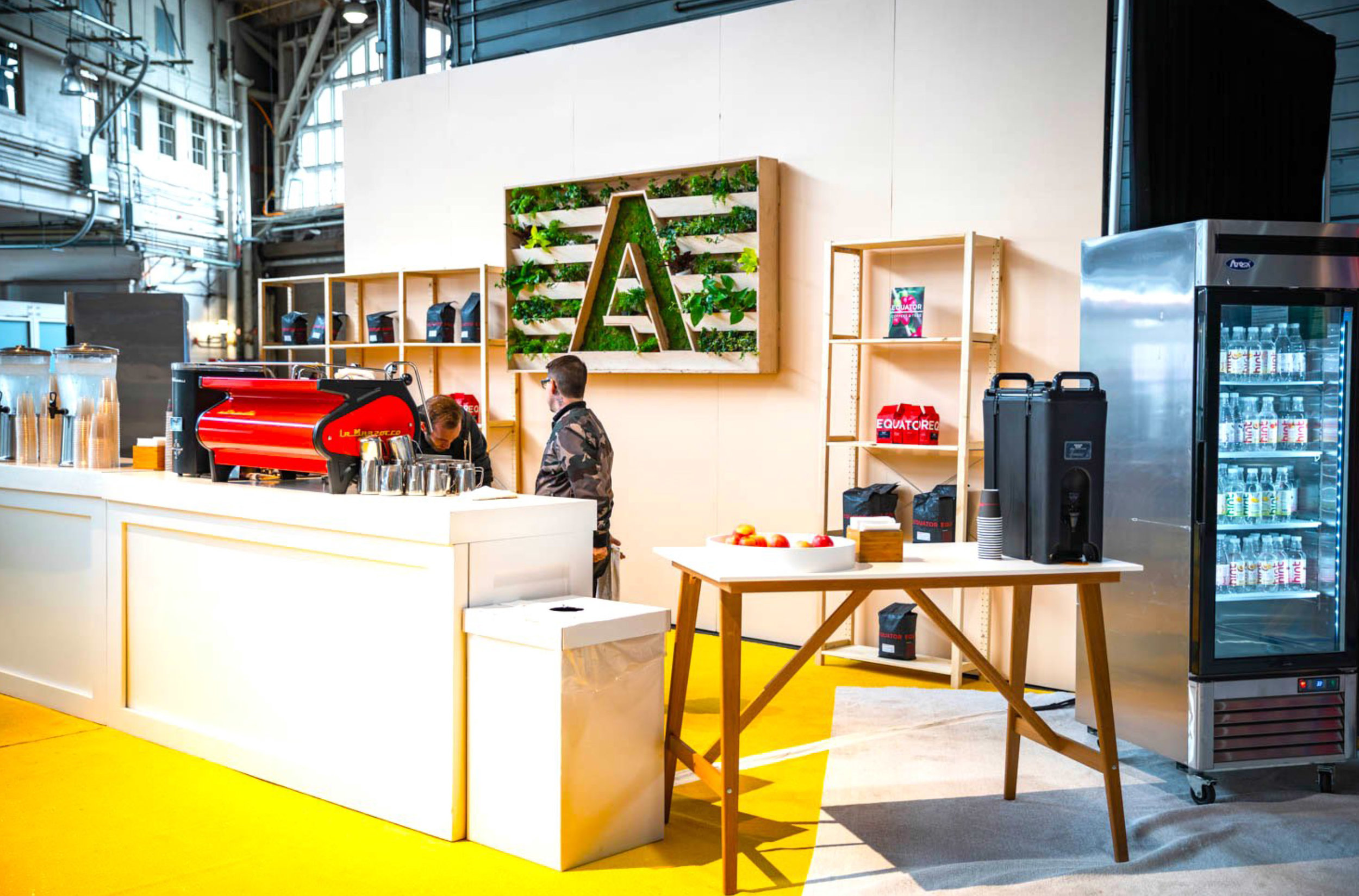 Preview Events - Adobe Design Summit - San Francisco - Brand design - conference design - pier 35 - coffee station.jpg