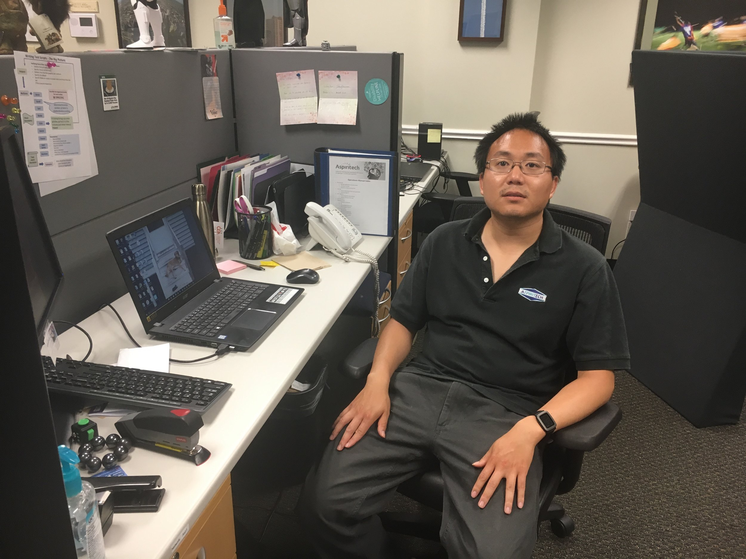 """I feel like I am advancing my skills and learning a lot with computers. I am also learning to work with others, follow directions, and stay focused on work.""  -Alan, 32 years old, QA Analyst since 2009"