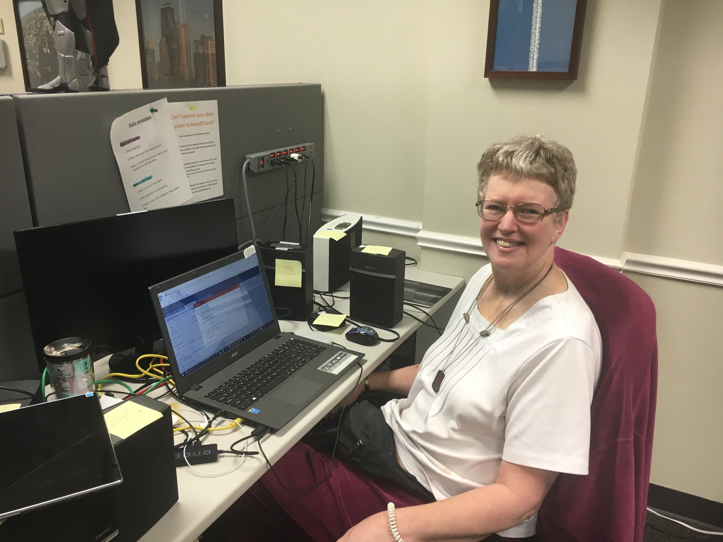 """The testing techniques and defect reporting techniques are superior to what I have come across during my career in the computer science field.""  -Gail, 61 years old, QA Analyst since 2014"