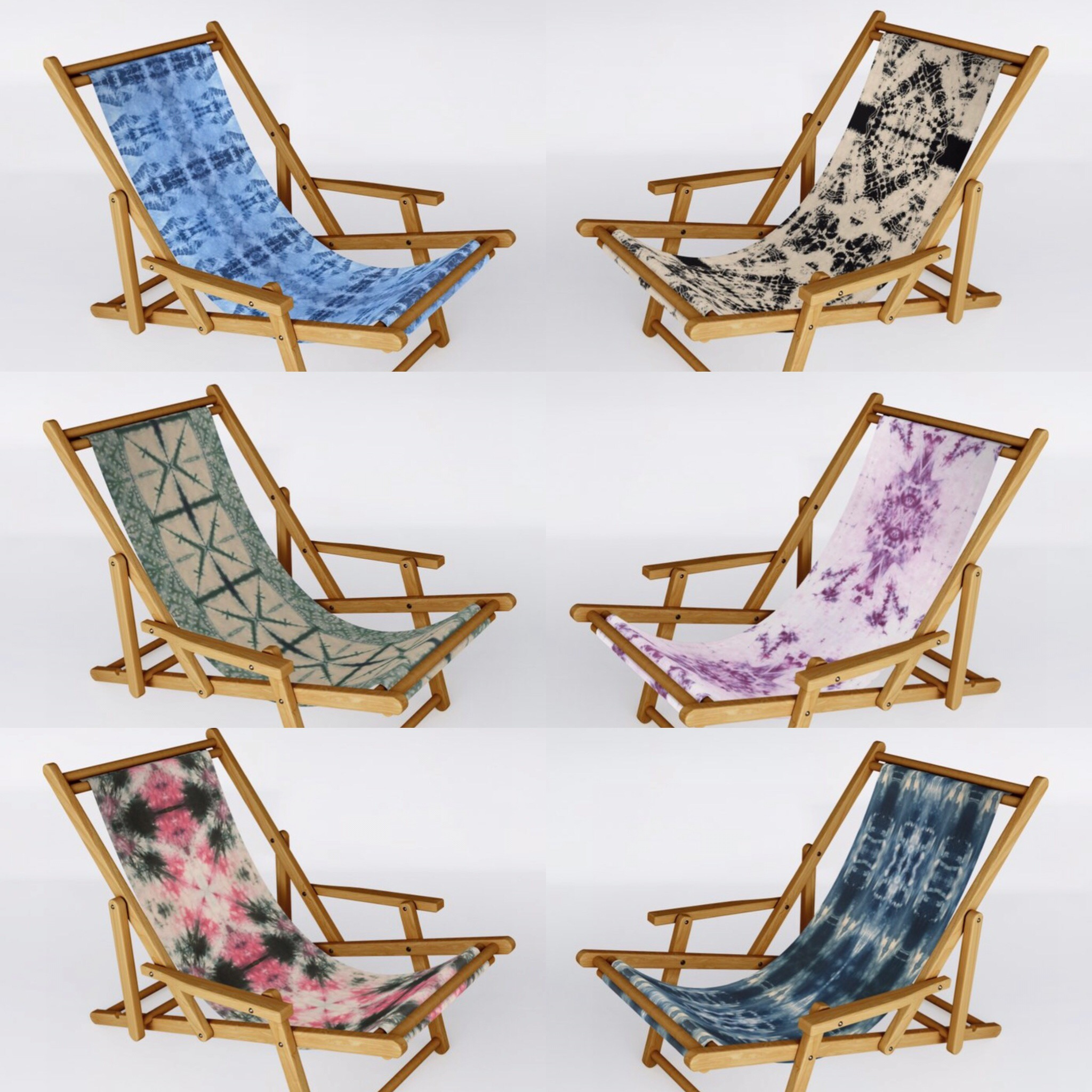 Society6 Sling Chairs