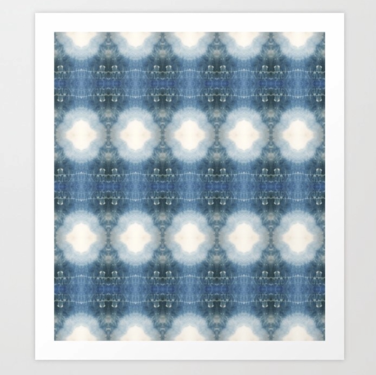Shades of Blue Shibori