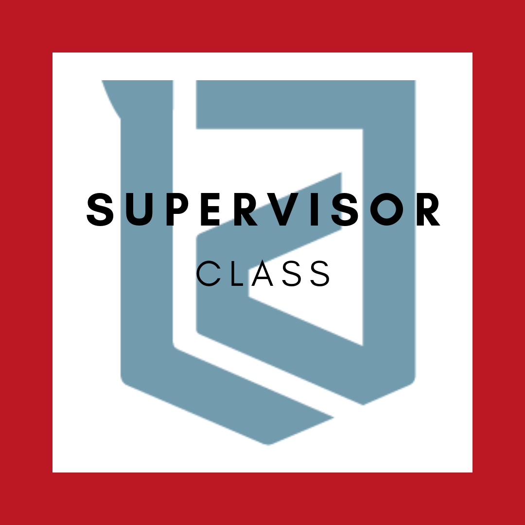 Supervisor Lawson & Associates, Inc Training Track