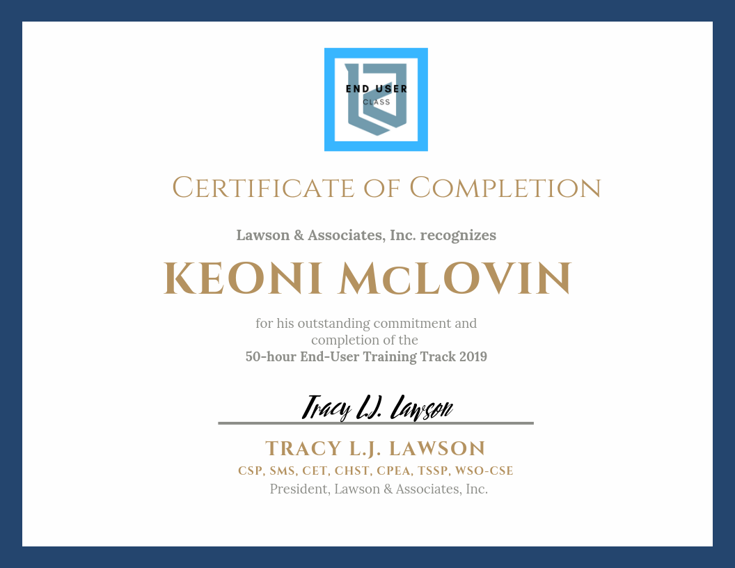 LAWSON TRAINING TRACK Certificate of Completion - End User.png