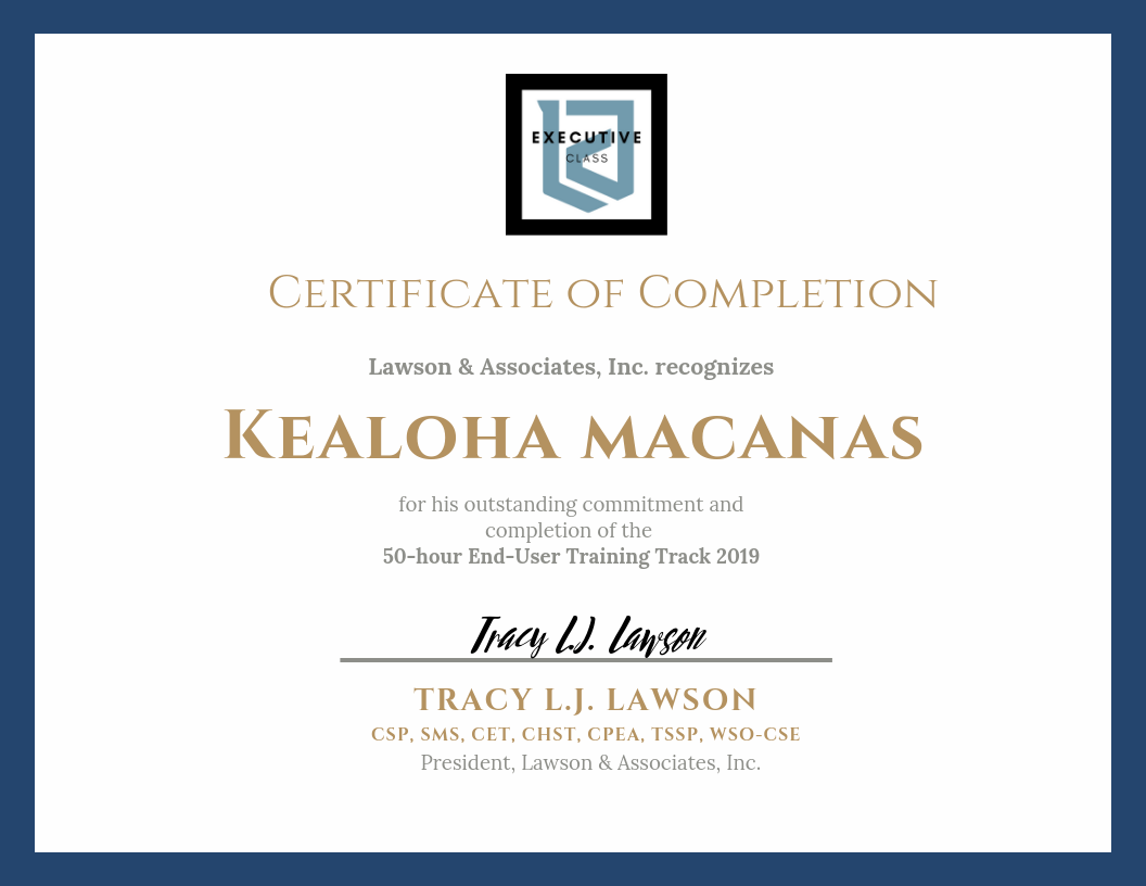 LAWSON TRAINING TRACK Certificate of Completion - Executive.png