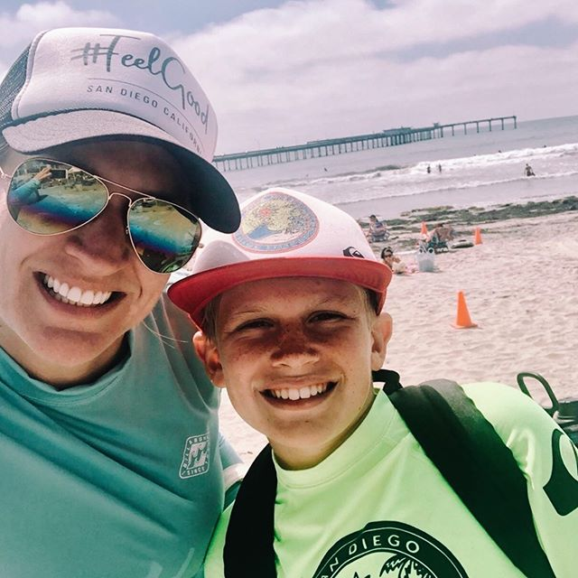 We faced our fear and jumped the pier 🌊. . . . . . . . . #oceanbeach #faceyourfearandjumpthepier #ob #pierjump #lifeguard #feelgoodlife #summervibes #beachlife #oceanswim #faceyourfear #jrlifeguards #healthyliving #feelgoodlifestyle