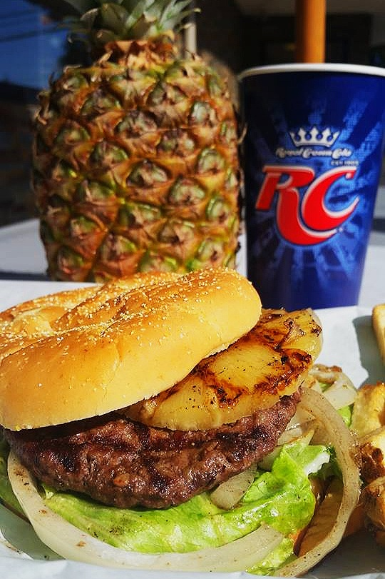 Try our new Fresh Teriyaki Burger! Made with our house blended Teriyaki sauce, finished with pureed ginger and minced garlic! We serve it on our Kaiser Bun topped with a grilled pineapple slice, mayonnaise, and fresh leaf lettuce! Come in and have one made freshly for you today!