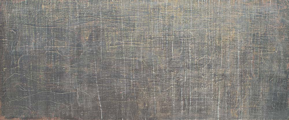 """""""Inward I,"""" 10x24 inches, oil on linen panel"""
