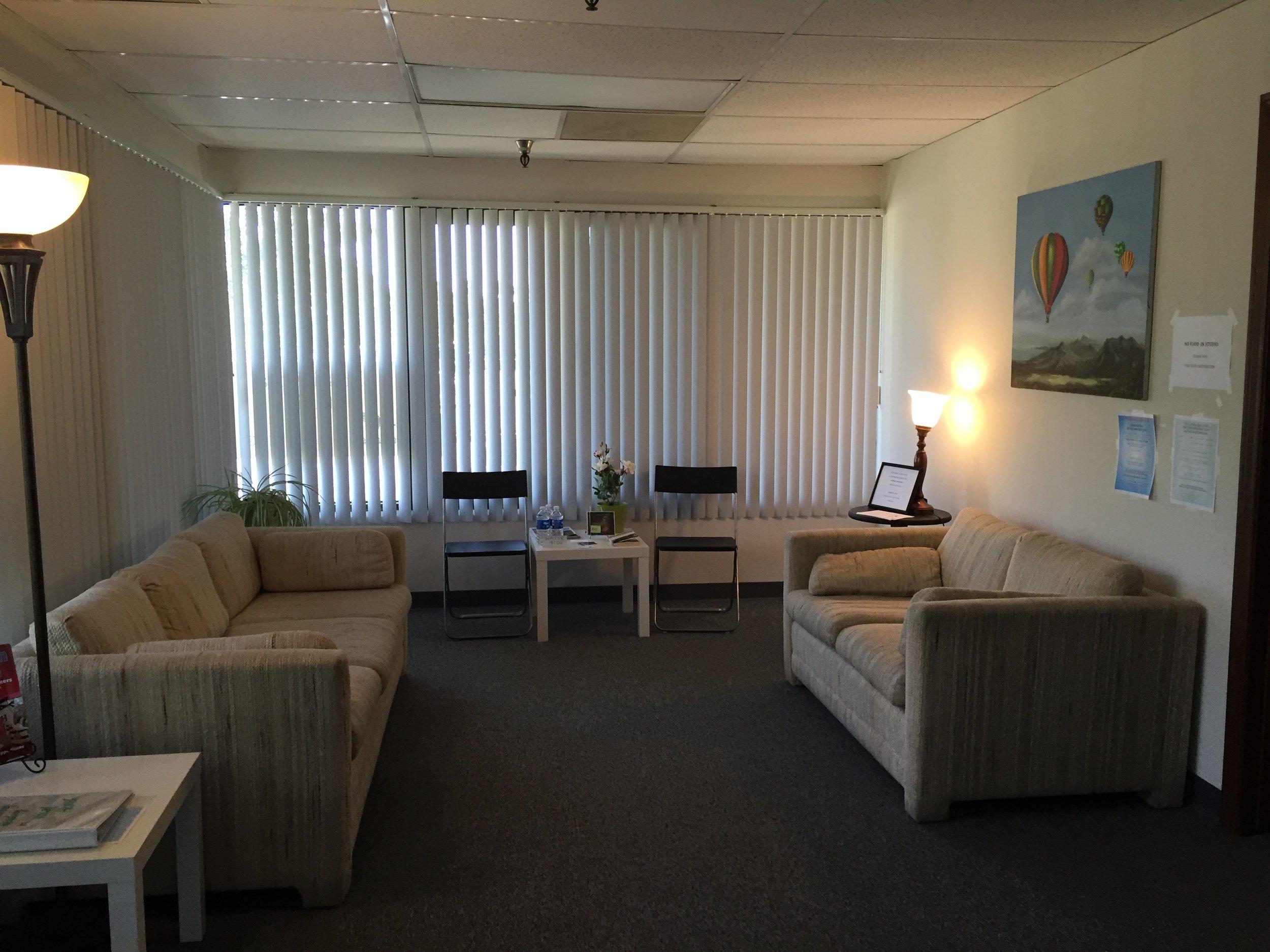 Chrissie Vocal Studio - Waiting  area