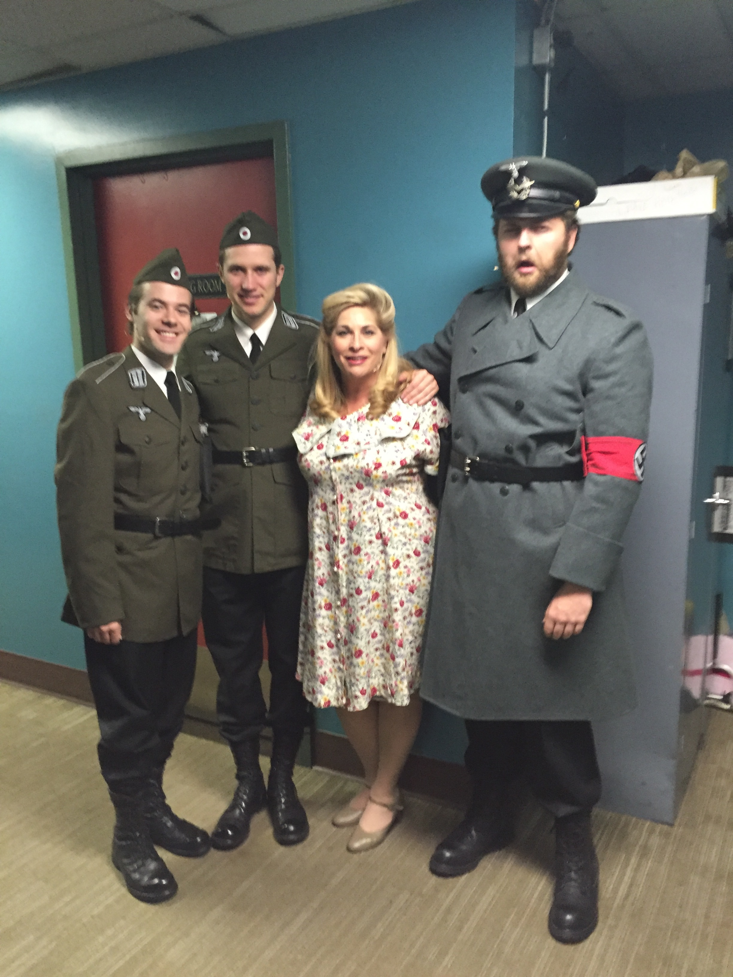 "A wonderful play based on a true story of the Danish people who helped save the Jews in WWII,  ""He Numbers the Stars""  playing  Mrs. Johansen."