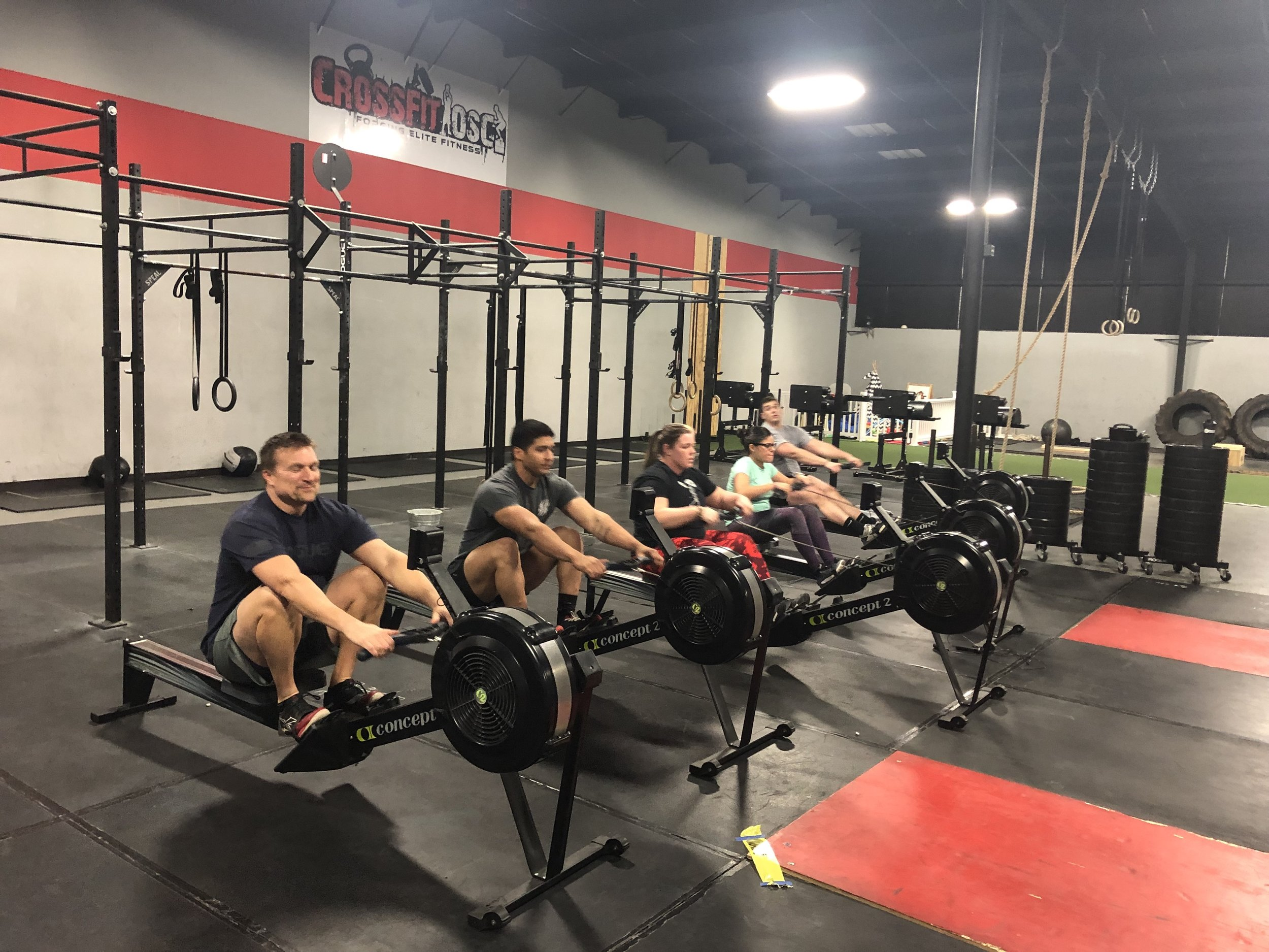 Accountability - Without a doubt, consistency in your training is the most important aspect of fitness success and forward progress. Our trainers at Crossfit OSC are experts in holding you accountable and will challenge you every time you show up.