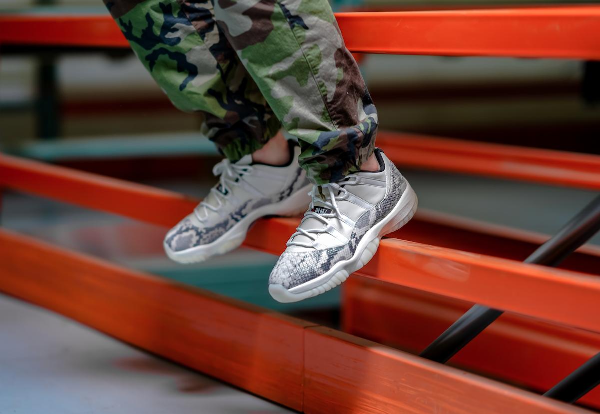 Air Jordan 11 Retro Low Snakeskin