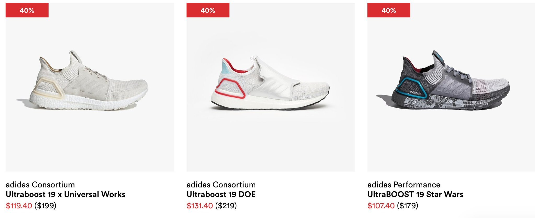 STEALS! 40% off recently released Ultra