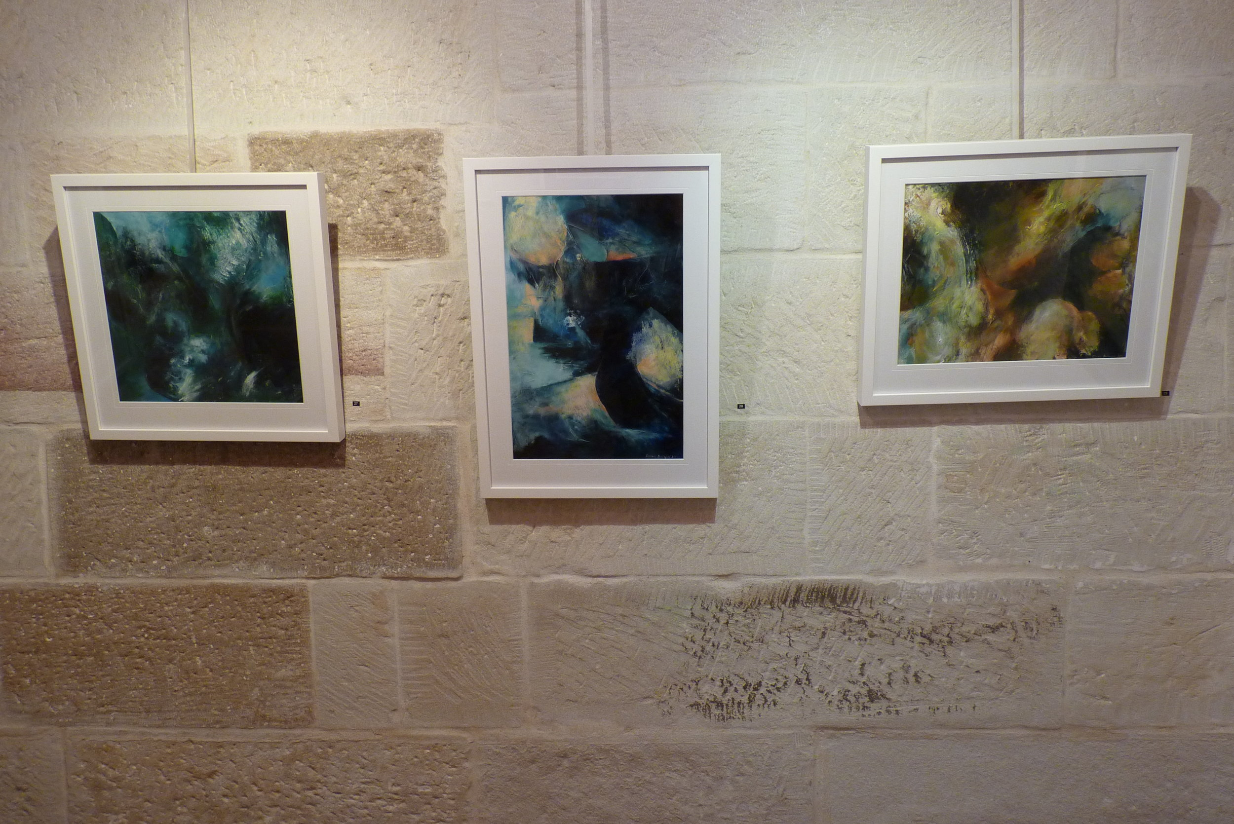 Hart Start annual exhibition 2013 - Two of these works sold on the night.