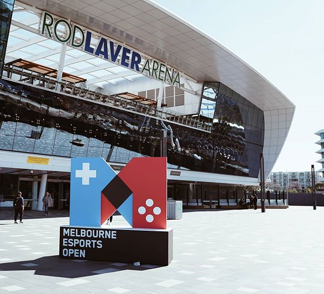 We're chilling at #MEO today! Come and find us!  #MEO #Melbourne #esports #rodlaverarena #gaming