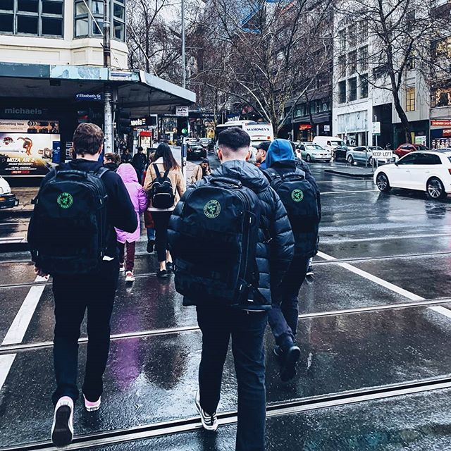 #OddityR6 arrived in #Melbourne safely, greeted by awesome weather... @teamrazer looking 🔥  #esports #razer #city #rain