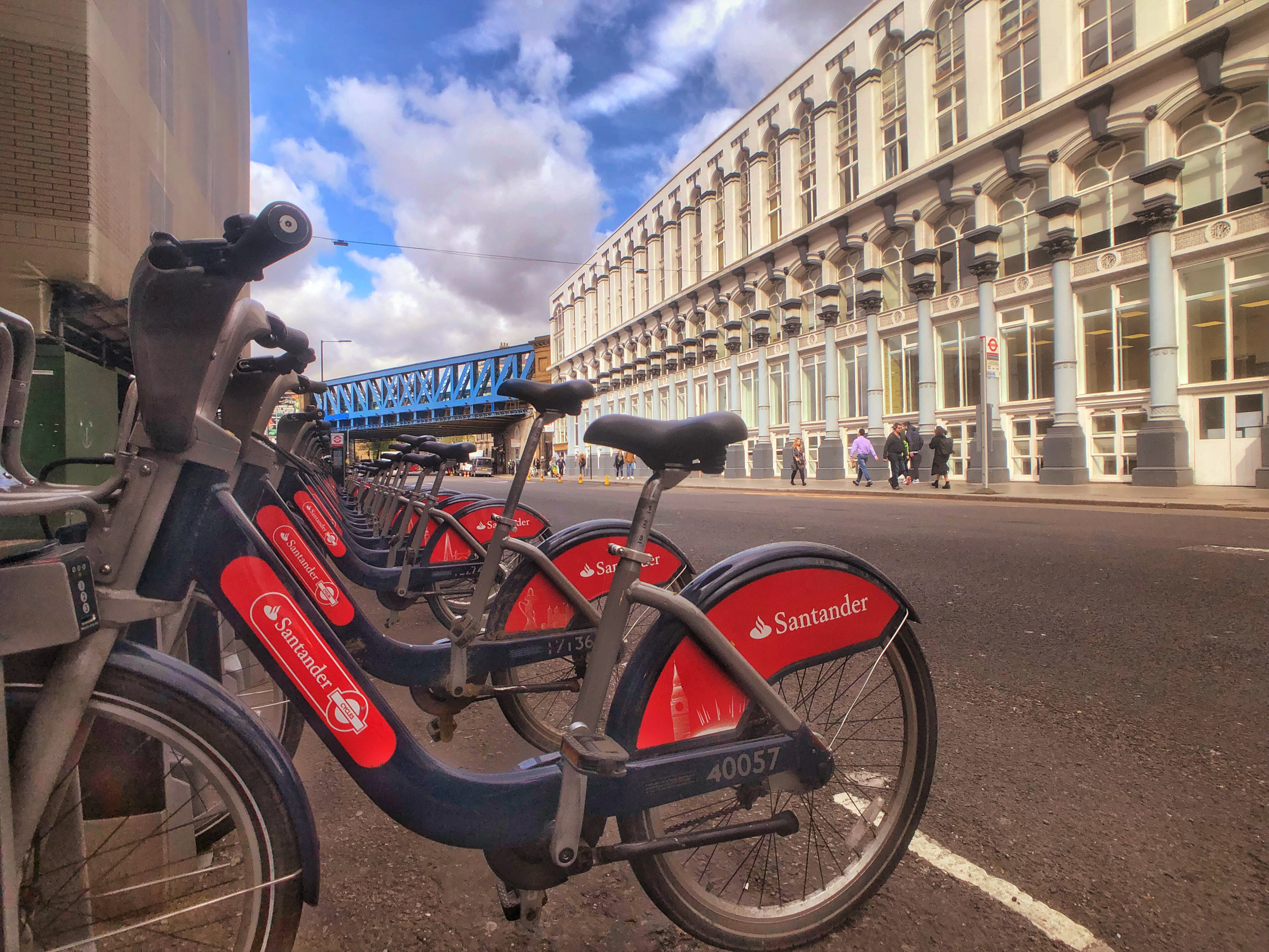 Rentable bikes in London