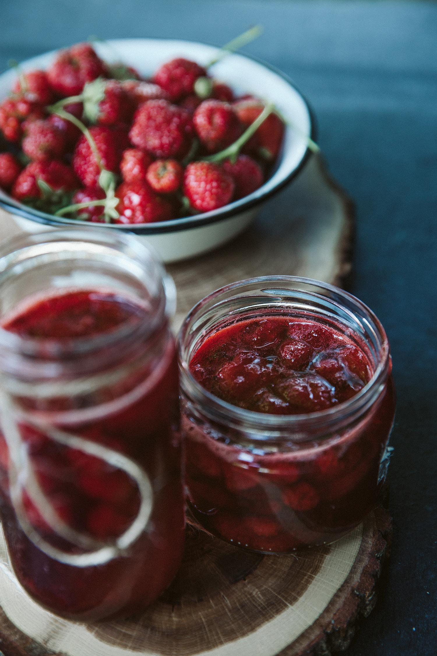 Easy strawberry syrup - Lengvai pagaminamas braškių užpilas