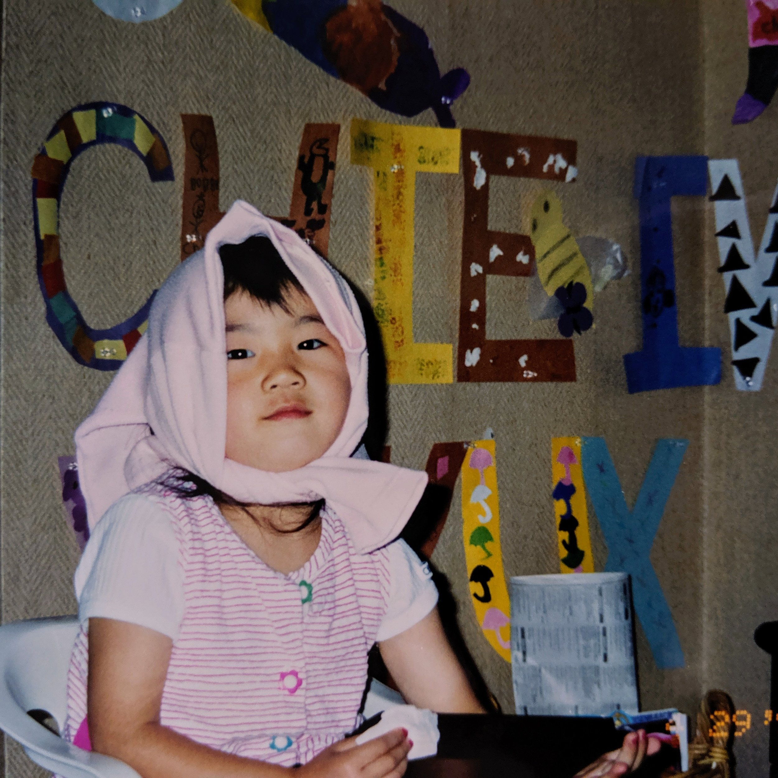 As a child, that art gallery was my pride and joy. My fashion choices though, not so much.