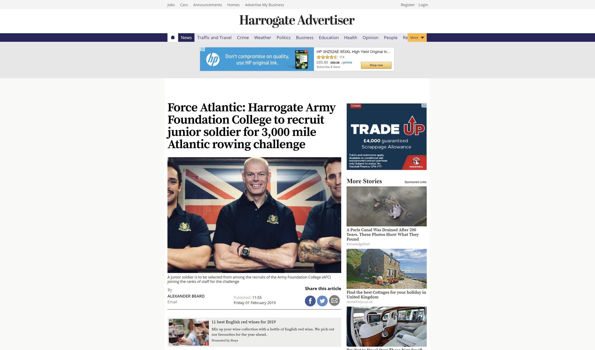 Harrogate Advertiser.JPG