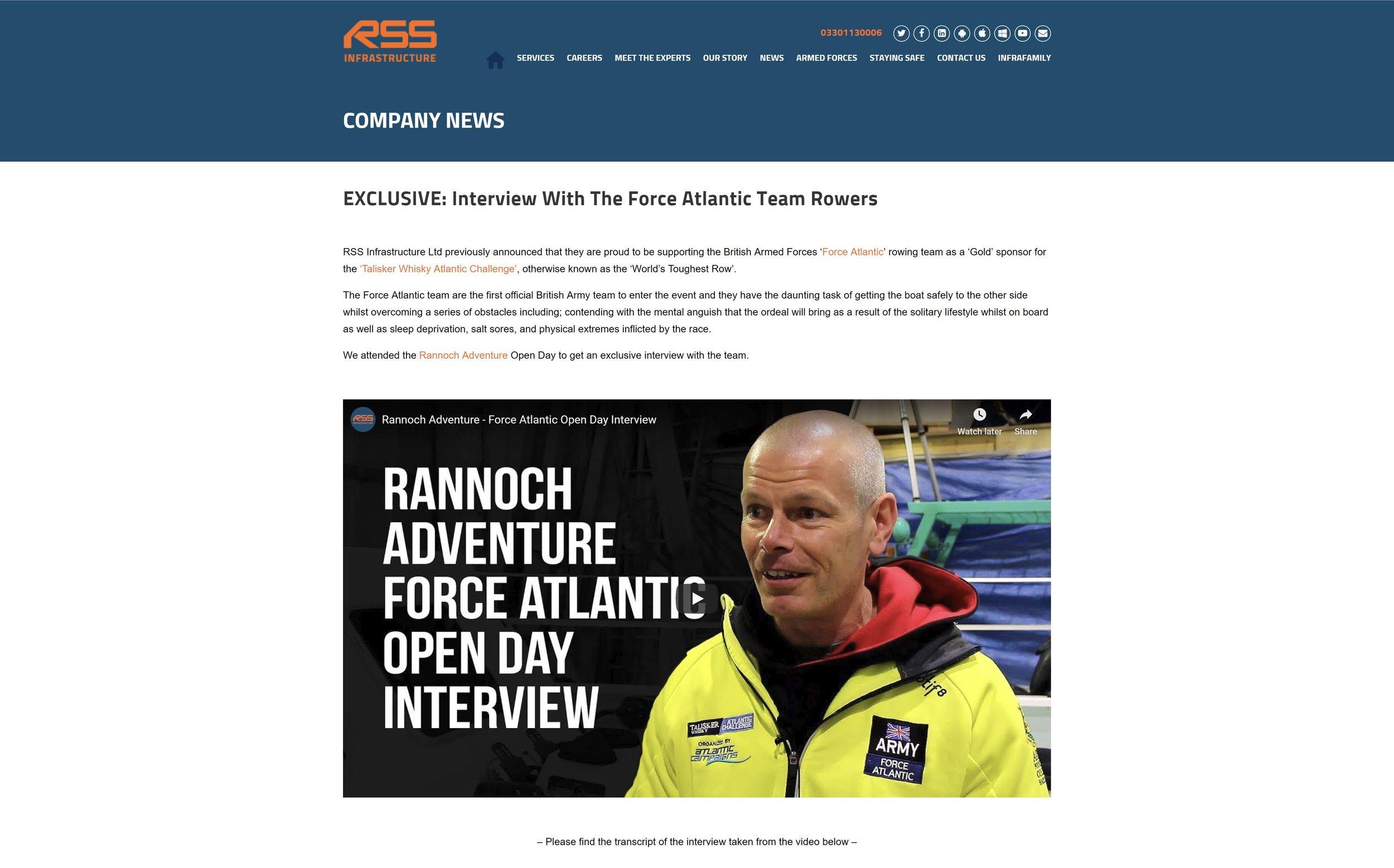 RSS Infrastructure Interview.JPG