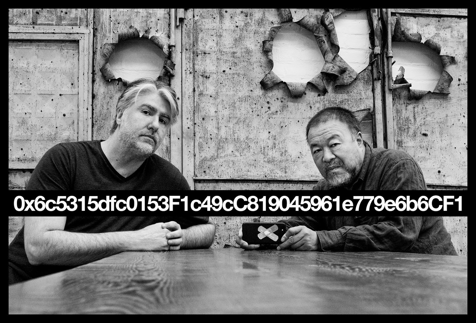 Perfect & Priceless - Value Systems on the BlockchainNOVEMBER 16, 2018 - FEBRUARY 28, 2019Featured Work By: Kevin Abosch & AI Weiwei