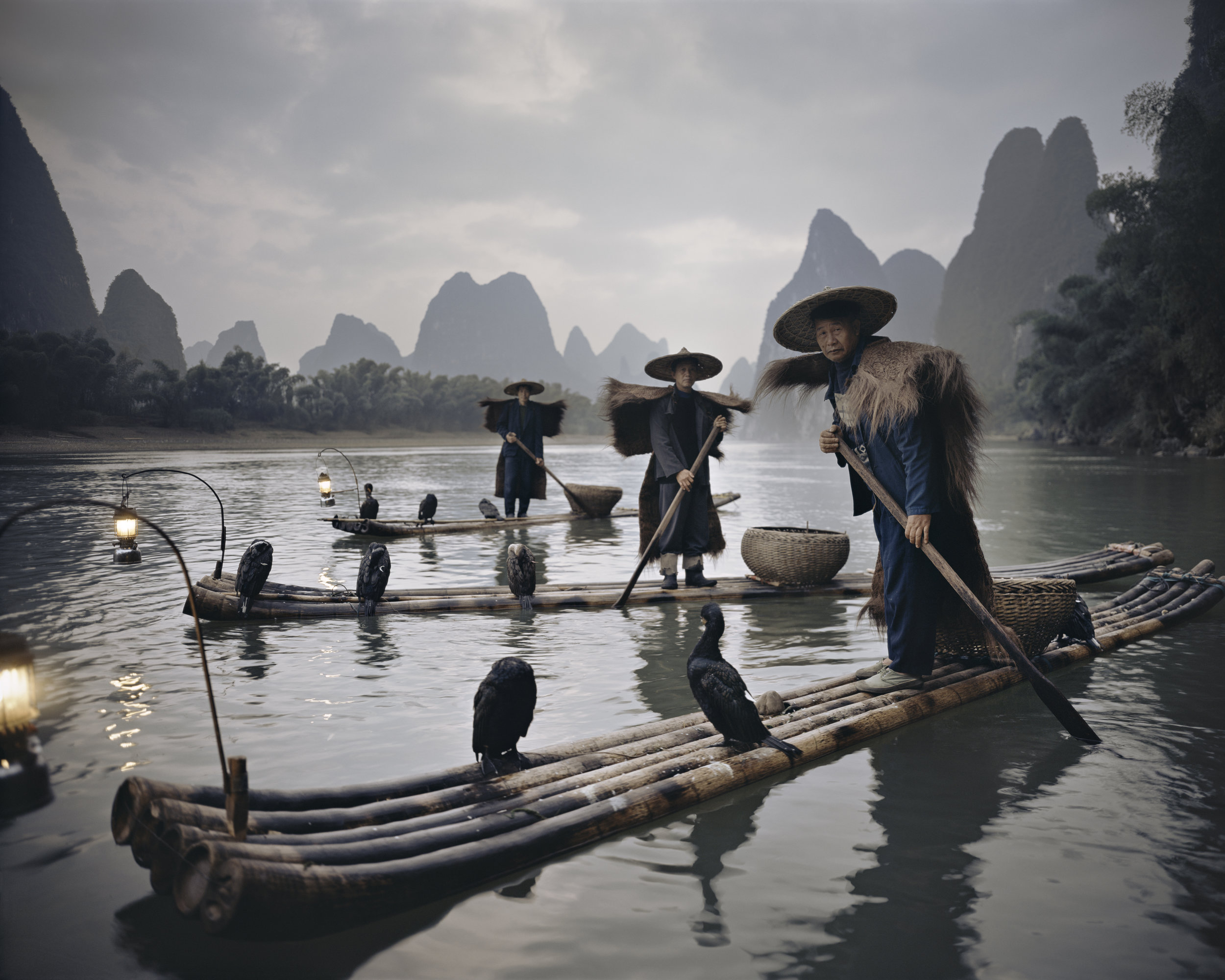 Jimmy Nelson   China XXII 467, Yangshuo Comorants , 2017