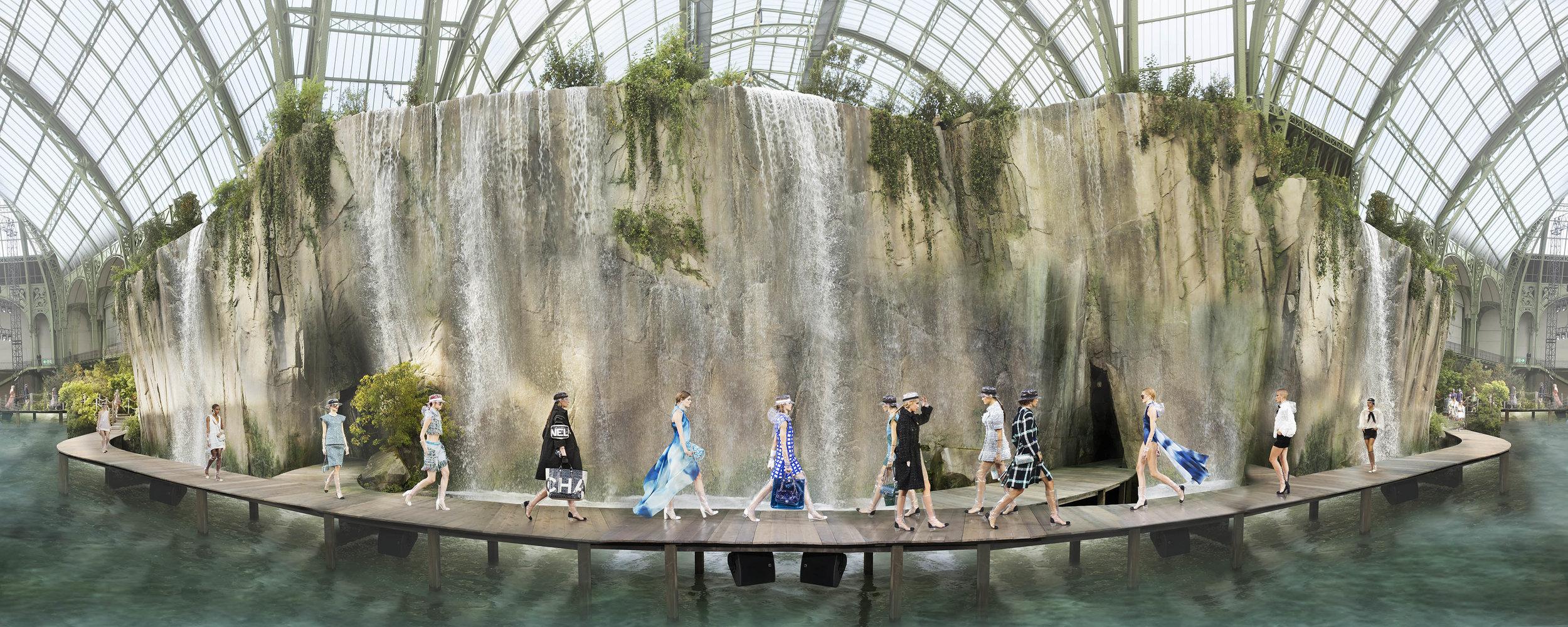 Simon Procter   Chanel Arcadia, Paris, Grand Palais Oct3, 2017 Collection SS18 , 2017
