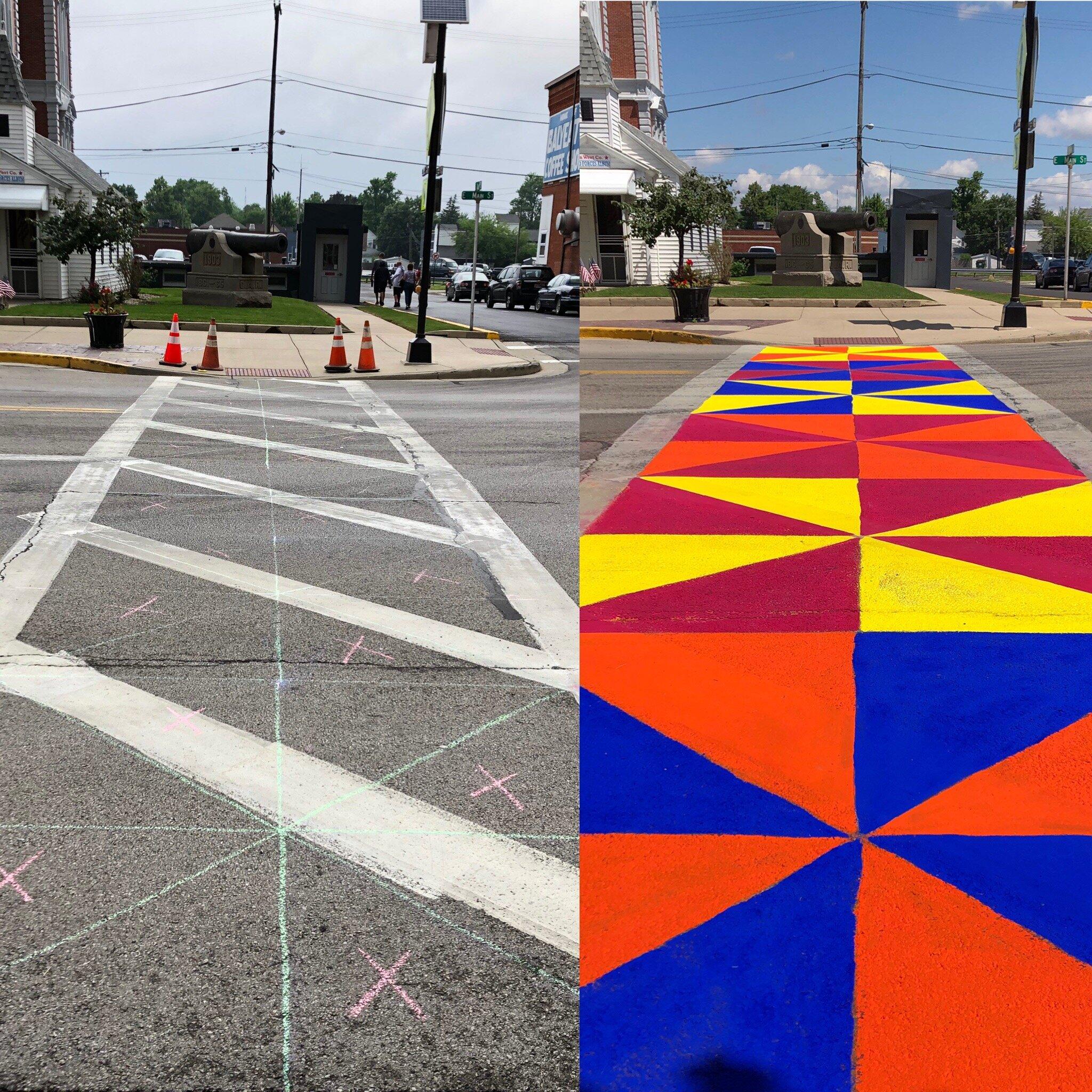 Van Wert Creative Crosswalk
