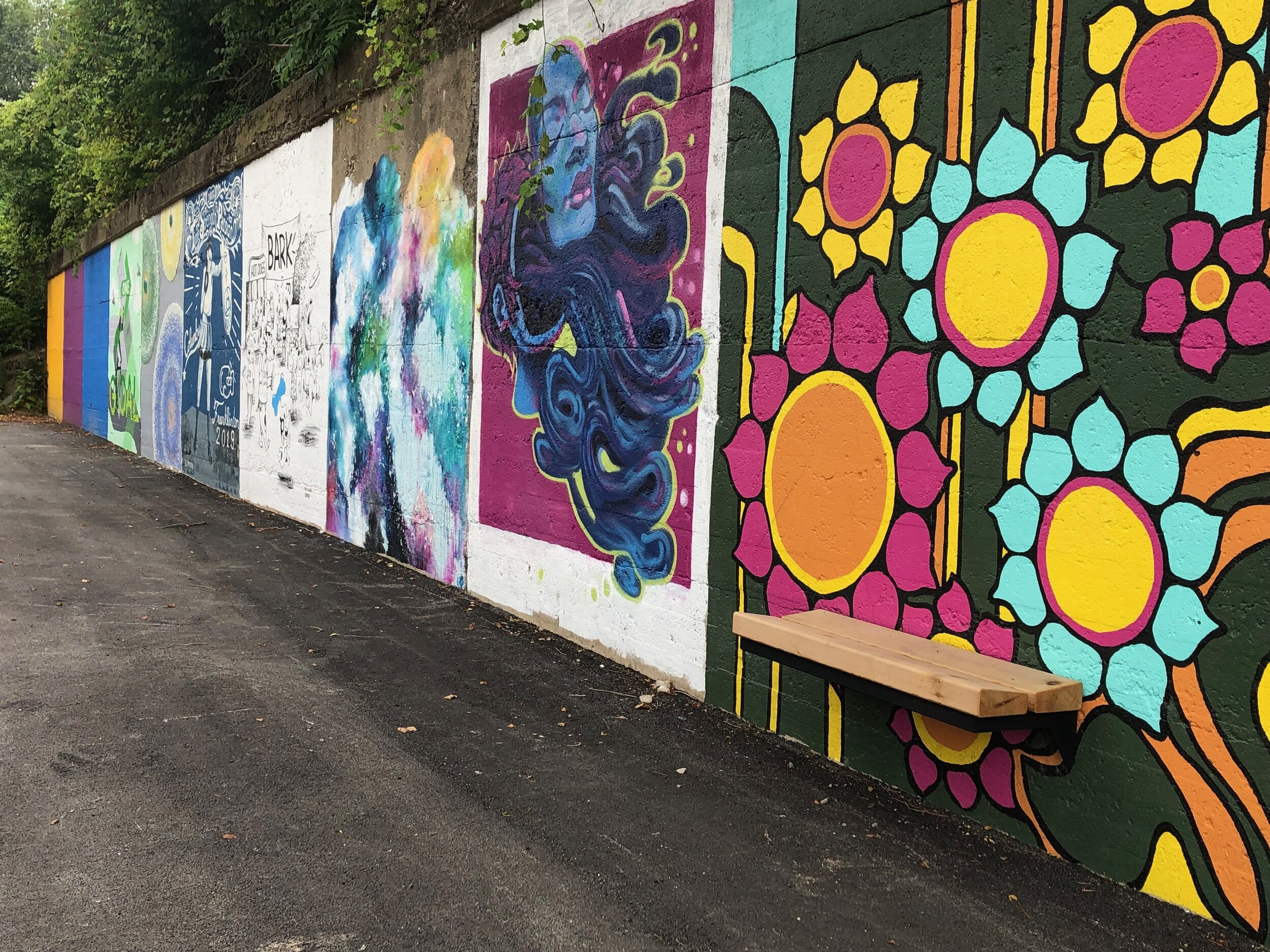 Gravity Alloy Art Space Mural Project