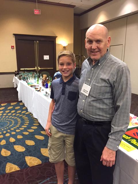 President John Panek with his grandson