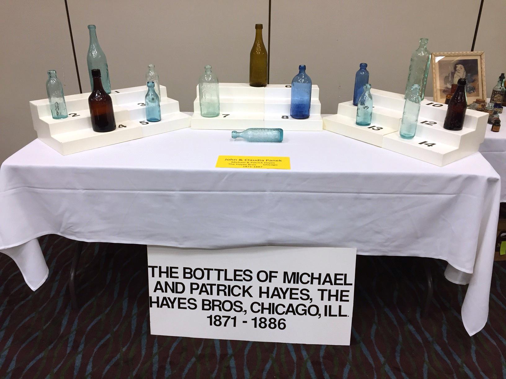 Hayes Bros. Bottles