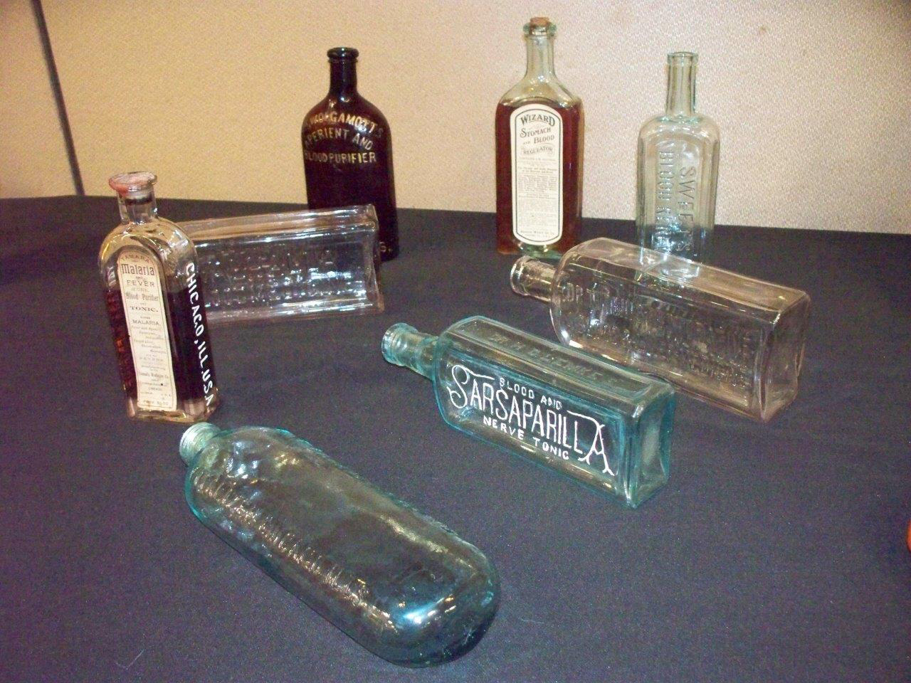 """""""Blood"""" related bottles from Chicago"""
