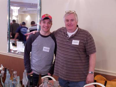 Tom Majewski and son
