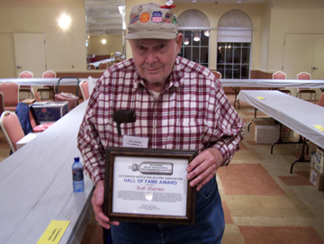 """Bob Harms Charter Recipient of  Hutchinson Bottle Collectors' Association  """"Hall of Fame Award"""""""