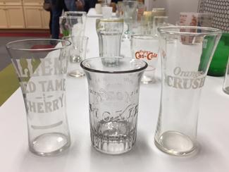 January-program: soda & beer glasses